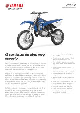 YZ85/LW - Moto Macia