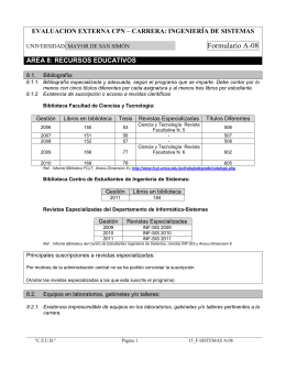 AREA 1: NORMAS JURIDICAS E INSTITUCIONALES