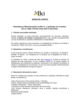 """""""Actualiza tu Remuneración en Bci.cl y participa en el sorteo De un"""