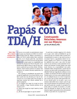 papá con el TDA/H