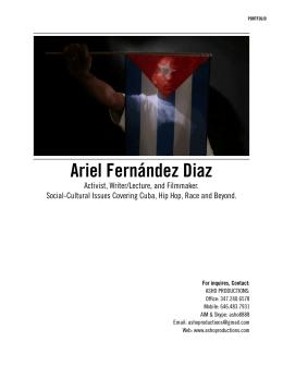 Ariel Fernández Diaz - Ariel Fernández Díaz