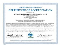 MB-224 - The International Accreditation Service