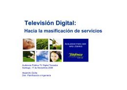 Televisión Digital: