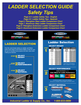 Ladder Safety & Selection Guide