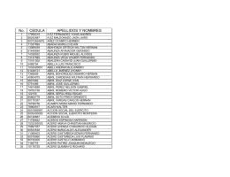Acreedores Varios - Ejercito Nacional de Colombia