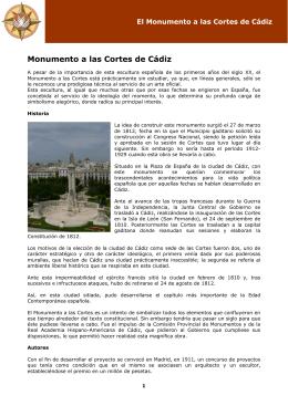 Monumento a las Cortes de Cádiz