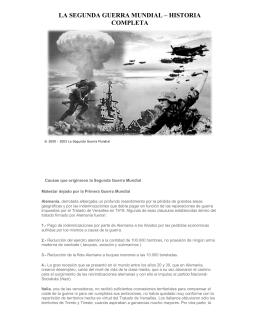 la segunda guerra mundial – historia completa