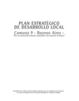 Comuna 9 - Buenos Aires / pdf