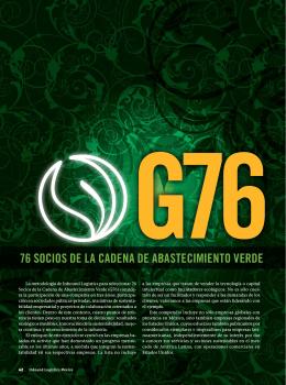 G76 Socios de la Cadena de Abastecimiento Verde La metodología