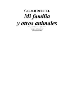 Mi familia y otros animales (en pdf)
