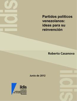 Partidos políticos venezolanos : ideas para su reinvención
