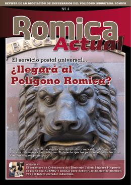 ¿llegará al Polígono Romica? - Asociación de Empresarios del
