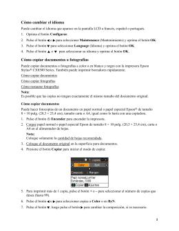 Stylus CX8300 - Manual del usuario
