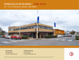 PORCELLO BUILDING - FOR SALE - Commercial Brokers Association