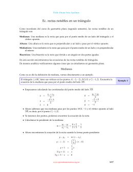 Geometría Analítica - Aprende Matemáticas