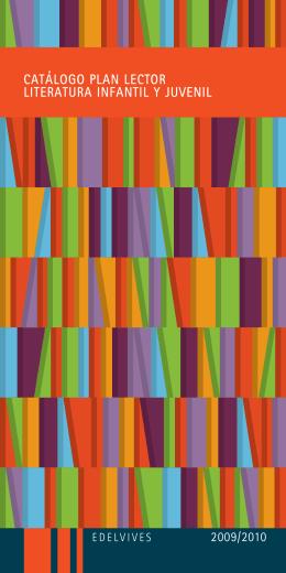 catálogo plan lector literatura infantil y juvenil
