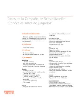 Mem.Anual FSGG Anexos - Fundación Secretariado Gitano