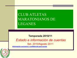 cuota 2012 - Maratonianos de Leganés