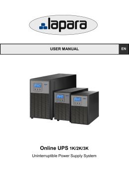 Online UPS 1K/2K/3K - Dns System Tienda Online informática