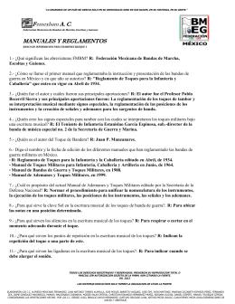 Presidencia Nacional - Encuentro Nacional FEMEXBAM