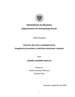 TESIS FINAL - Universidad de Granada