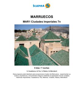 Descargar Programa de Viaje Formato PDF