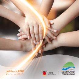 "Jahrbuch 2008 Anuario 2008 - Colegio Alemán ""Juan Hoffmann"""