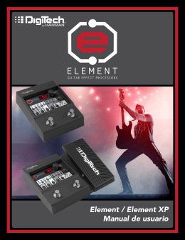 Element / Element XP Manual de usuario