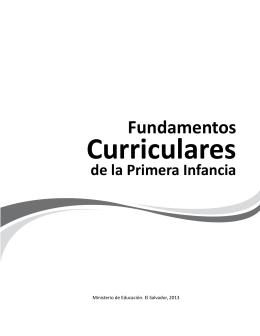 Fundamentos Curriculares de la Primera Infancia