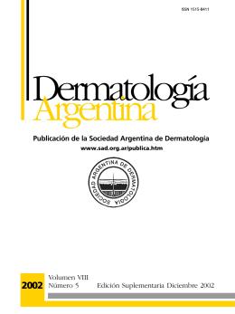 Nº 5 - Sociedad Argentina de Dermatología