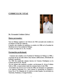Dr. Urdiales - Instituto Médico Miramar