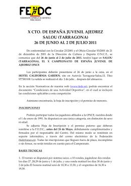 11-403 X Cto. España Juvenil ABIERTA _Salou