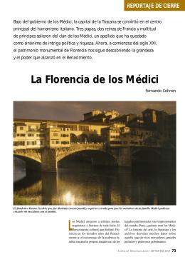 La Florencia de los Médici