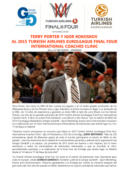 terry porter y igor kokoskov al 2015 turkish airlines euroleague final