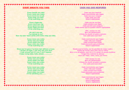 every breath you take lyrics