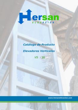 Elevadores verticales modelos VL y VS