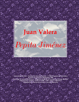 Valera, Juan - Pepita Jimenez