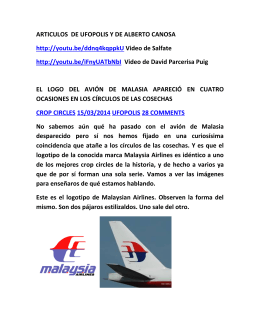 accidente del boeing 777 malasya airlines historias fantasticas