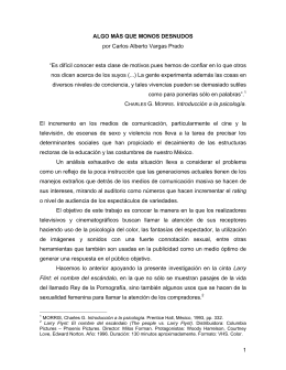 1 ALGO MÁS QUE MONOS DESNUDOS por Carlos Alberto Vargas