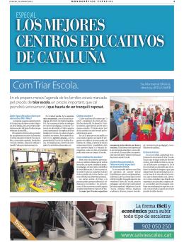 ComTriarEscola. - Institució Familiar d`Educació