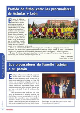 Los procuradores de Tenerife festejan a su patrón Los procuradores