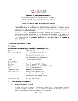 CONTRALORA GENERAL DE LA REP BLICA
