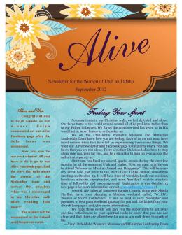 Feeding Your Spirit - Utah Idaho Southern Baptist Convention