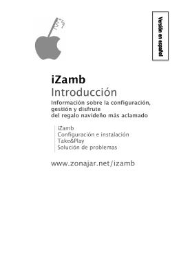 iZamb Introducción