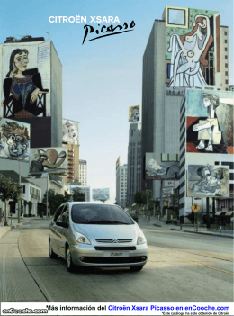 Catálogo del Citroën Xsara Picasso