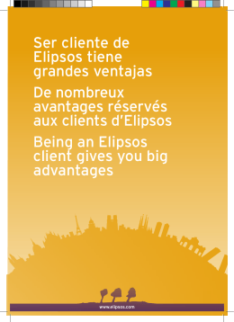 Ser cliente de Elipsos tiene grandes ventajas De