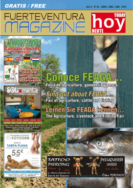 GRATIS / FREE - fuerteventura magazine hoy