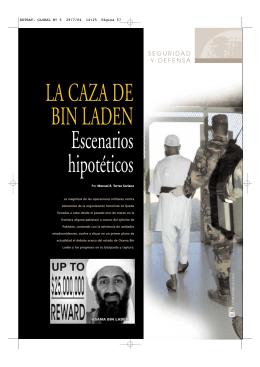 """TORRES, M. """"La caza de Bin Laden. Escenarios hipotéticos"""""""