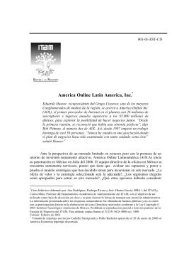 America Online Latin America, Inc.