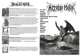 Descargar Arraigo Metal Zine